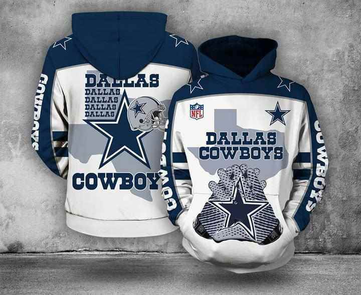 Dallas Cowboys Nfl For Cowboys Fan Hoodie 3d